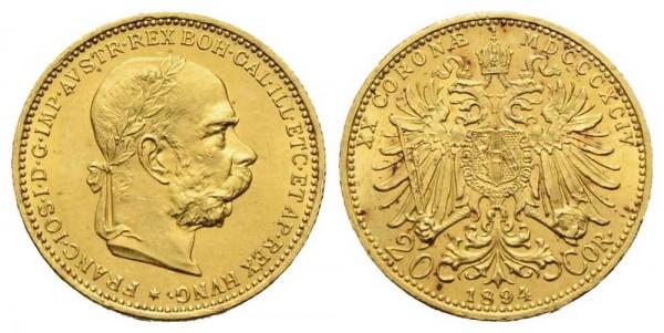 Goldmünze-Österreich-Franz-Joseph-20-Kronen-VIA11013