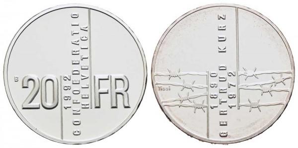 Weltmünze-Schweiz-Polierte Platte-VIA10620