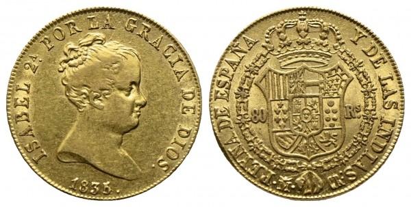 Spanien - Isabella II. 1833-1868