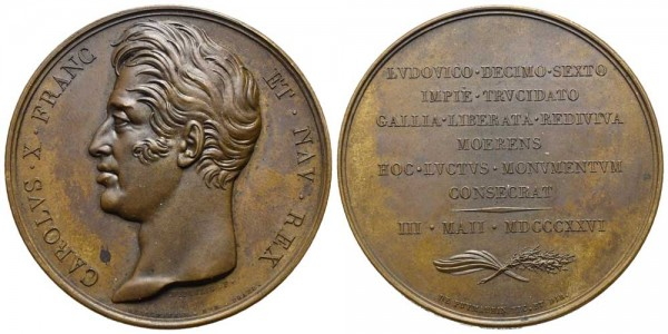 Medaille-Frankreich-Karl-X-VIA10471