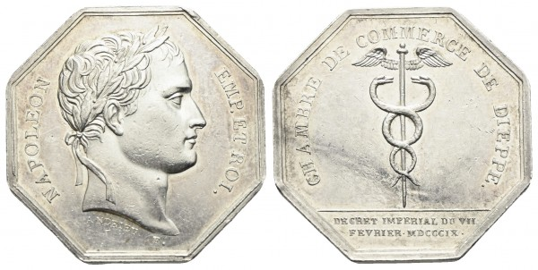 Frankreich - Dieppe - Medaille