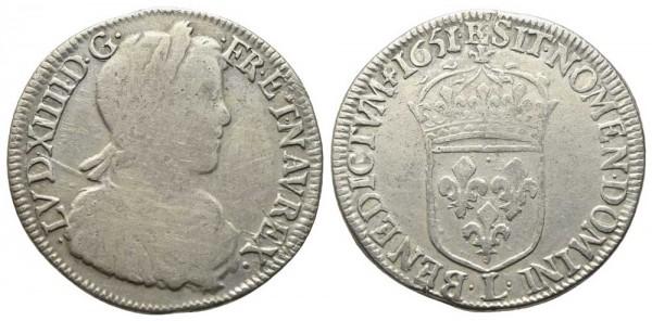 Münze-Frankreich-Ludwig-XIV-Luigino-VIA10422