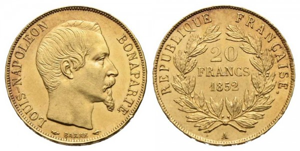 Goldmünze-Frankreich-Napoleon-III-VIA10651