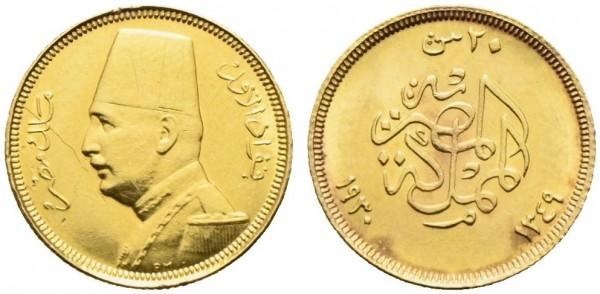 Goldmünze-Ägypten-VIA10828
