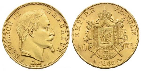 Goldmünze-Frankreich-Napoleon-III-VIA10650