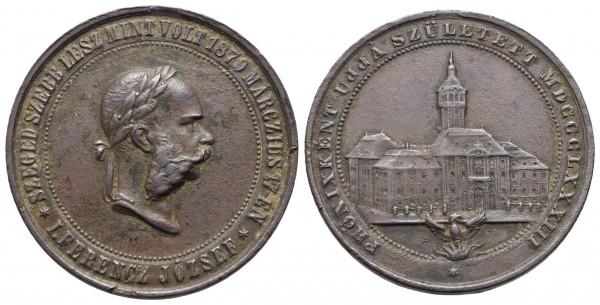 Kaiserreich Österreich - Franz Joseph I. 1848-1916 - Medaille