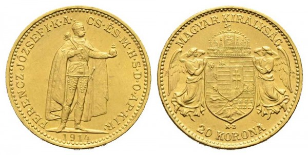 Goldmünze-Österreich-RDR-Franz-Joseph-Korona-VIA10975