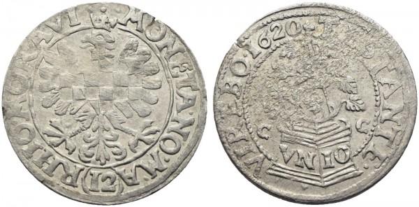 Münze-Römisch-Deutsches-Reich-Stände-Böhmen-Mähren-VIA10803