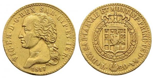 Goldmünze-Italien-Sardinien-Vittorio-Emanuele-I-VIA10767