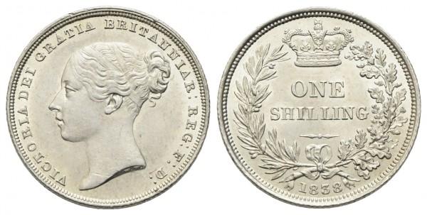 Großbritannien – Victoria 1837-1901 - Shilling 1838