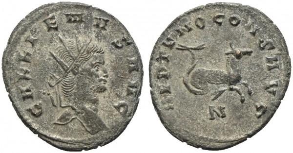 Römische-Münze-Antike-Gallienus-Hippocampus-VIA10918