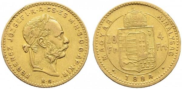 Goldmünze-Österreich-Franz-Joseph-10Fr-4Frt-VIA10366