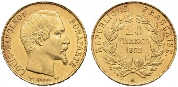Goldmünze-Frankreich-Napoleon-III-VIA10832