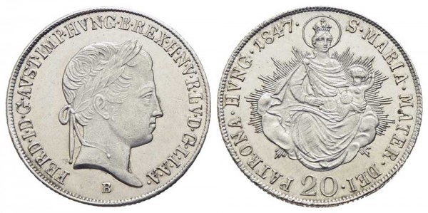 RDR-Münze-Österreich-Ferdinand-I-VIA10603
