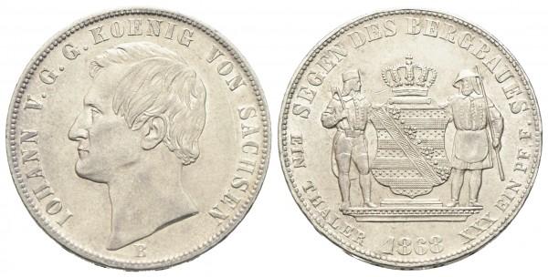 Deutschland - Sachsen - Johann 1854-1873