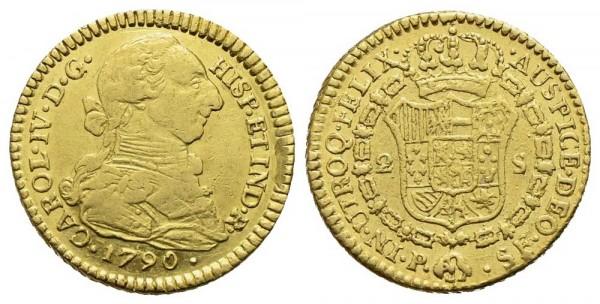 Goldmünze-Kolumbien-Karl-IV-VIA10782