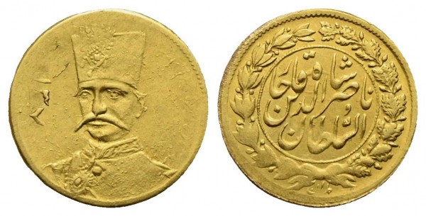 Goldmünze-Iran-Nasir-al-Din-Shah-VIA10783