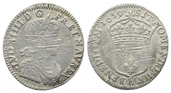 Münze-Frankreich-Ludwig-XIV-Luigino-VIA10421