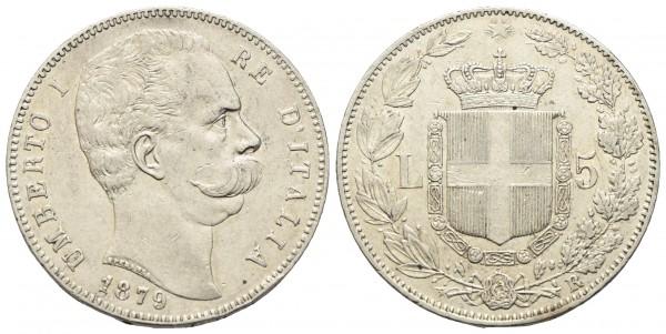 Italien - Umberto I. 1878-1900