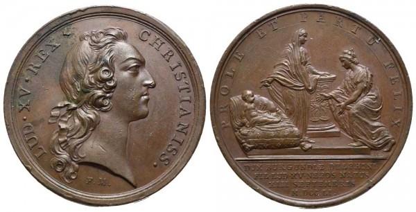 Medaille-Frankreich-Ludwig-XV-VIA10473