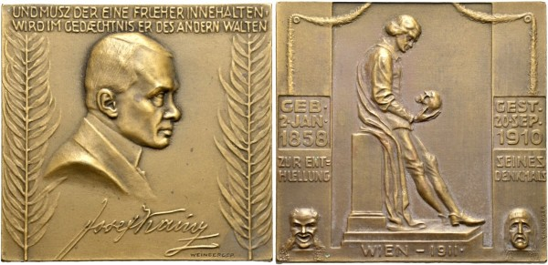 Plakette-Medaille-Weinberger-Joseph-Kainz-VIA11064