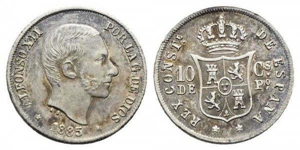 Münze-Philippinen-10-Centimos-de-Peso-VIA10955