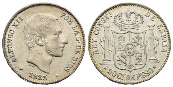 Münze-Philippinen-50-Centimos-de-Peso-VIA10962