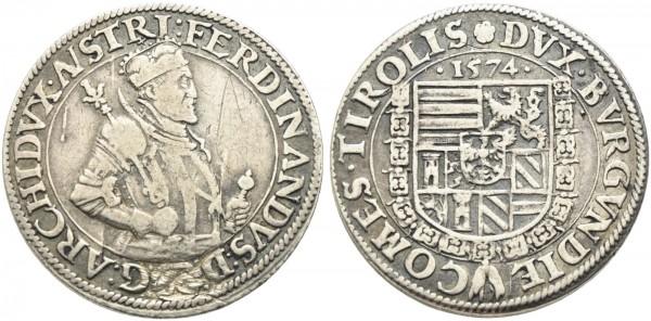 Münze-Römisch-Deutsches-Reich-Erzherzog-Ferdinand-Taler-VIA10898