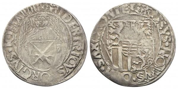 Deutschland - Sachsen - Friedrich III., Georg und Johann 1500-1507