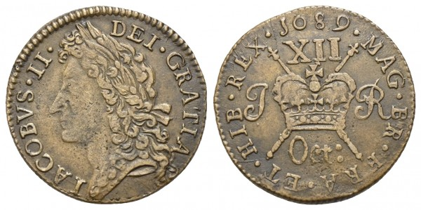 Irland - Jakob II. 1685-1691