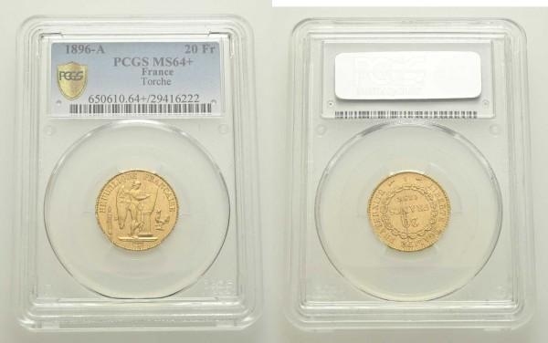 Goldmünze-Frankreich-20-Francs-VIA11046-Holder