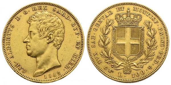 Goldmünze-Sardinien-Karl-Albert-VIA10639