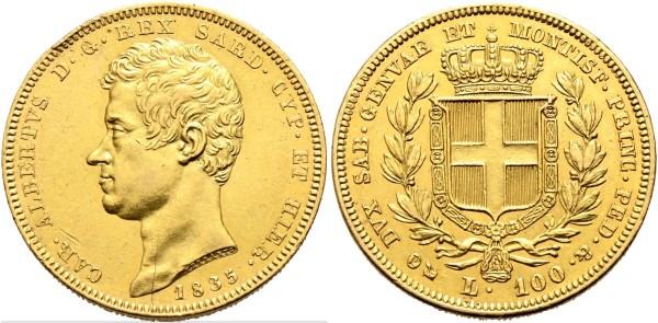 Goldmünze-Italien-Sardinien-100-Lire-VIA11092