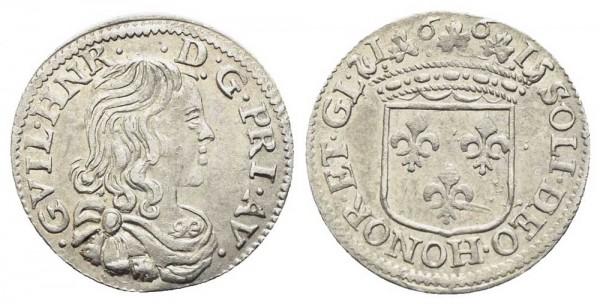 Weltmünze-Frankreich-Orange-Luigino-VIA10416
