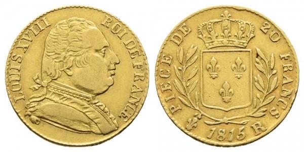 Goldmünze-Frankreich-Louis-XVIII-VIA10629