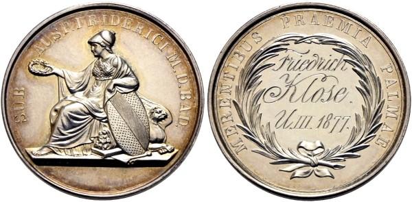 Medaille-Baden-Durlach-Deutschland-Schulprämie-Friedrich-Klose-VIA11101