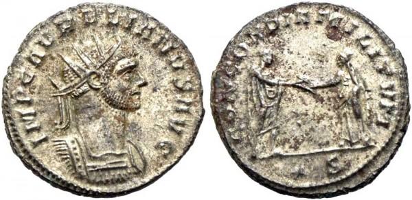 Antike-Münze-Rom-Aurelianus-Antoninian-RIC244-VIA11002