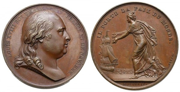 Medaille-Frankreich-Ludwig-XVIII-VIA10469