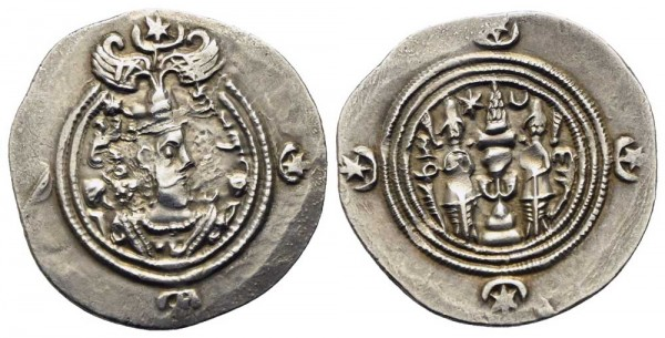 Sasaniden-Xusro-II-VIA10745