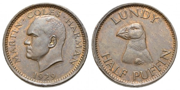 Großbritannien - Lundy - Martin Coles Harman 1924-1968